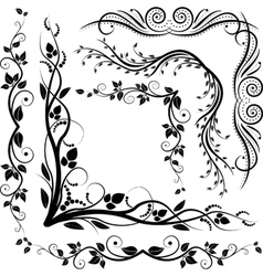 Decorative corners vector