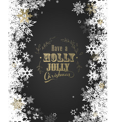 Have a holly jolly christmas with lots of vector