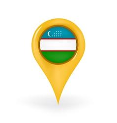 Location Uzbekistan vector image