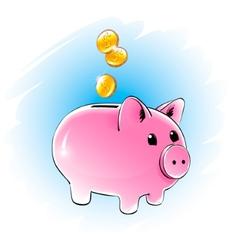 Moneybox vector
