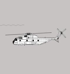 Sikorsky ch-53 sea stallion vector