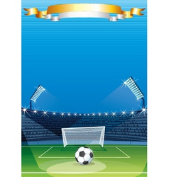 Soccer Sports stadiums vector