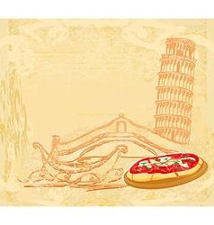 Symbols of Italy vector image