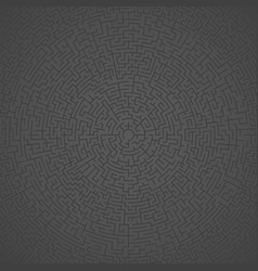 maze labyrinth puzzle challenge pattern vector image vector image