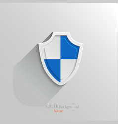 Guardian shield vector image vector image