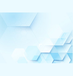 Abstract geometric shape technology background vector