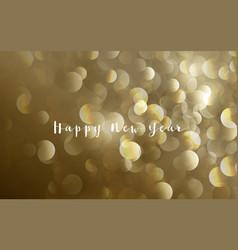 abstract gold glitter splash bokeh luxury vector image