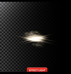 Abstract of a light effect in vector