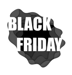 black friday wallpaper vector image