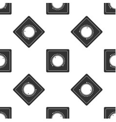 electric light switch icon seamless pattern vector image