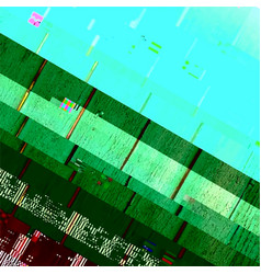 glitch abstract background vector image
