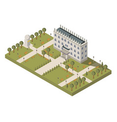 Isometric university composition vector