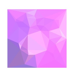 Medium orchid abstract low polygon background vector