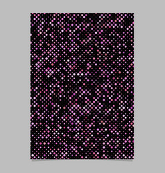pink dot pattern brochure background - stationery vector image