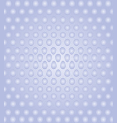 3d sphere on white and blue background vector image