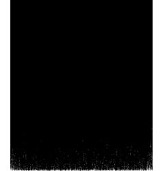 Black brush stroke element on white background vector