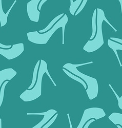 pattern ladies shoes vector image