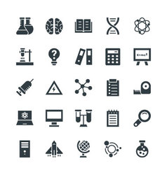 Science and Technology Cool Icons 3 vector
