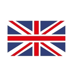 england flag isolated icon design vector image