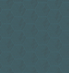 Blue cube texture on black seamless pattern vector image