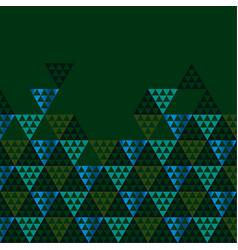 geometry black header vector image