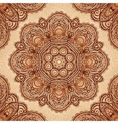 Ornate vintage napkin background vector