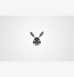 rabbit icon sign symbol vector image