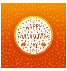 Thanksgiving day icon vector