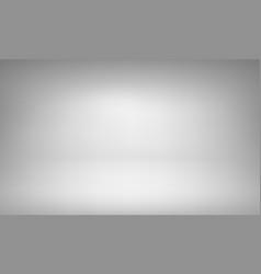 white studio background with spotlight gradient vector image
