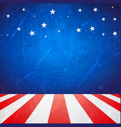 american background with space for your text vector image vector image