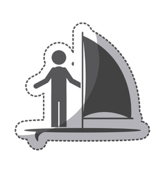 Isolated pictogram design vector