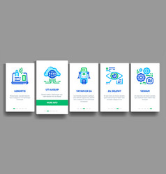 artificial intelligence onboarding vector image