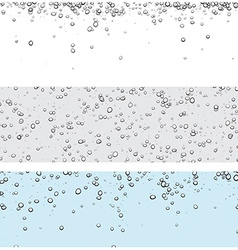 Backgrounds with bubbles vector