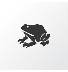 frog icon symbol premium quality isolated vector image