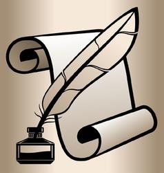 Handwritten accessories vector