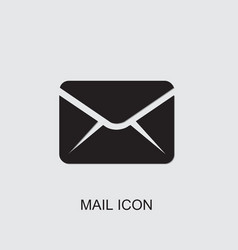 Mail icon vector