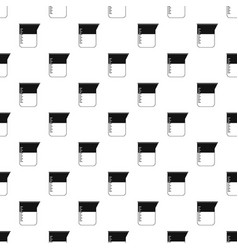 Measuring cup pattern vector