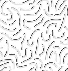 Seamless worm pattern vector