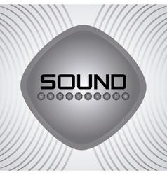Sound icon design vector