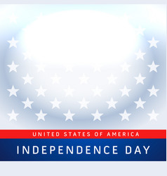 usa 4th july independence day background vector image