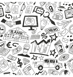 Business - semless background vector