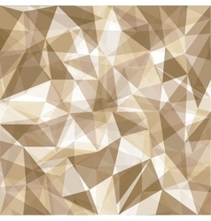 Brown and polygonal background vector