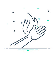 Burn injury vector