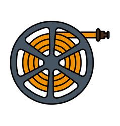 garden hose icon vector image