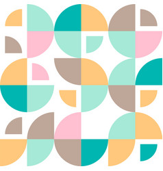 geometrical simple vintage retro pattern vector image