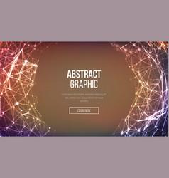 Technological sense abstract vector