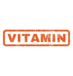 Vitamin Rubber Stamp vector