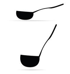 ladle vector image vector image