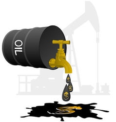 Oil business vector image vector image