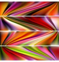 Horizontal Banner vector image